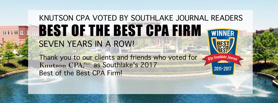 2017 Best of the Best CPA Southlake