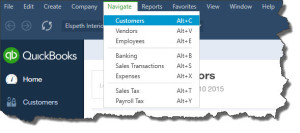 The old Windows menus are back in the new QuickBooks Online app.