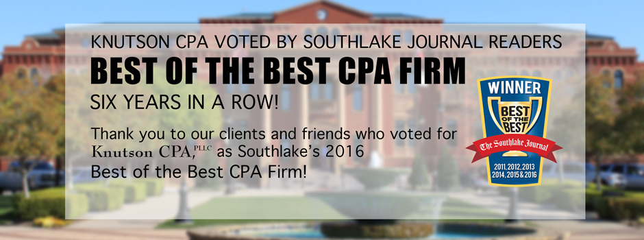 Dana McGuffin CPA Voted Best of the Best CPA in Southlake TX for 6th Year in a Row!